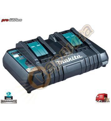 Автоматично двойно зарядно устройство Makita DC18RD 630868-6