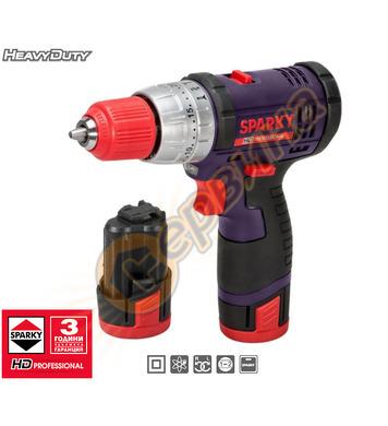 Акумулаторен ударен винтоверт Sparky BUR2 10.8Li-C HD 120001