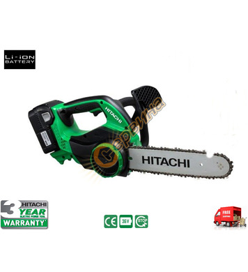 Акумулаторен верижен трион Hitachi CS36DL - 36V/2.0Ah Li-Ion