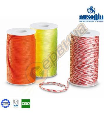 Зидарско въже от найлон цвят червено-бял Ausonia AU48206 - 1