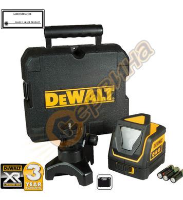 Нивелир лазерен с два лъча DeWalt DW0811 - 15м
