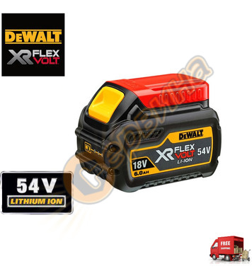 Акумулаторна батерия DeWalt DCB546 - 18/54V/6.0Ah Li-Ion