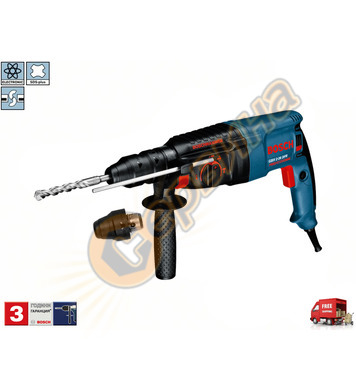 Комбиниран перфоратор Bosch GBH 2-26 DFR 0611254768 - 800W