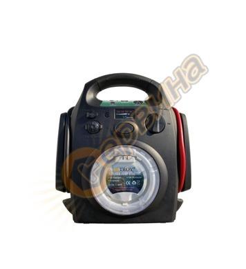Стартиращо, зарядно устройство компресор за гуми Troy T26011