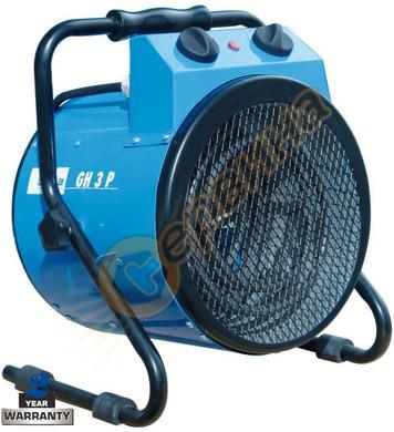 Електрически калорифер Gude GH 3 P 85107 - 3.0 KW