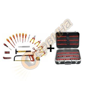 Куфар за инструменти Ceta Form ABS черен A30-HK - 21 части