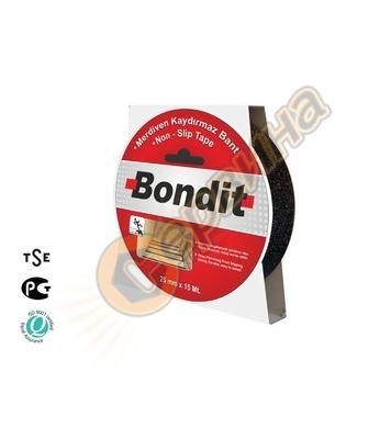 Противохлъзгаща лента 25мм х 15метра Bondit BNMK2515 - черна