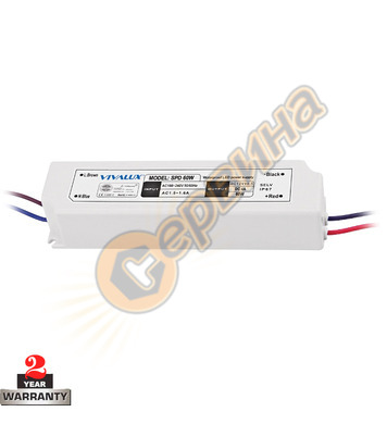 LED захранване Vivalux SPD SLIM LED driver 003652 - 60 W