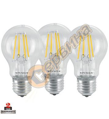 LED лампа Vivalux Flik LED - Af 60 LED 003560 - 8 W - 3бр