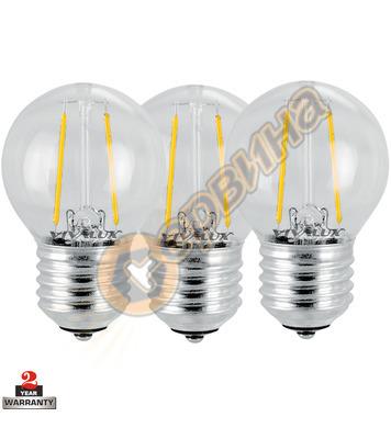LED лампа Vivalux Flik LED - Gf 45 LED 003566 - 2 W - 3бр
