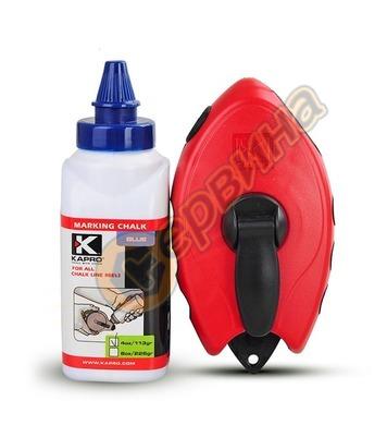 Маркиращ шнур - чертилка зидарска Kapro TS211100008S00 - 30м
