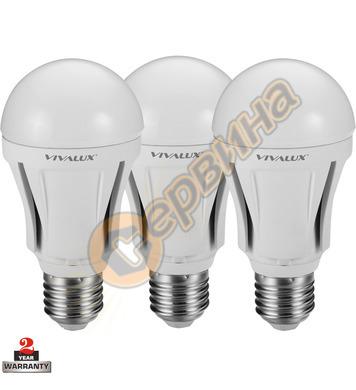 LED лампа Vivalux Alfa - Al LED WW 003138 - 10 W - 3бр
