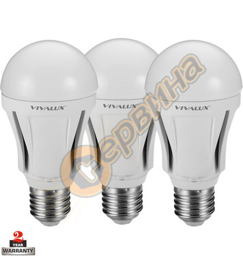LED лампа Vivalux Alfa - Al LED CL 003276 - 10 W - 3бр