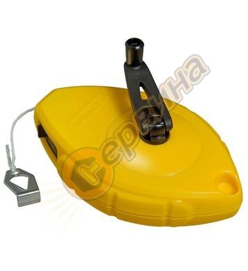 Маркиращ шнур - чертилка зидарска Stanley 0-47-440 - 30м