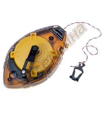Маркиращ шнур - чертилка зидарска Stanley 0-47-460 - 30м