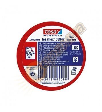 Изолирбанд Tesa червен 53947-003 - 10 м