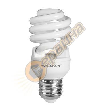 Енергоспестяваща лампа Vivalux X Spiral 003019 - XS22 - 15 W