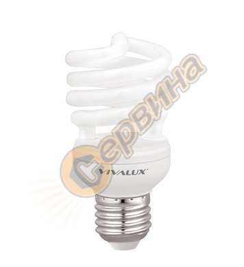 Енергоспестяваща лампа Vivalux Bright Spiral 002901 - Bs26 -