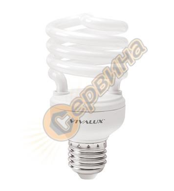 Енергоспестяваща лампа Vivalux Bright Spiral 002619 - Bs22 -