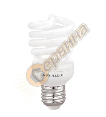Енергоспестяваща лампа Vivalux Bright Spiral 002620 - Bs22 -