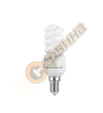 Енергоспестяваща лампа Vivalux Mini Spiral 003288 - Ms24 - 1