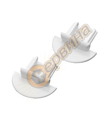 Комплект капачки за алуминиев профил Vivalux 003822 - IN