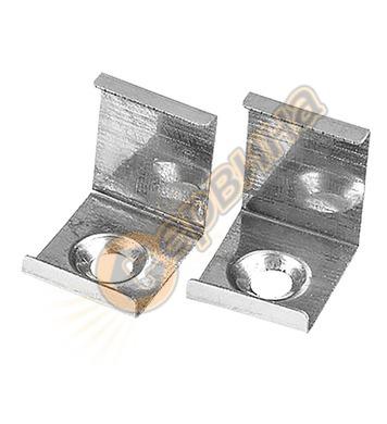 Мотажна скоба за алуминиев профил Vivalux 003824 - A