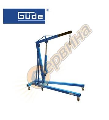 Сгъваем кран-жираф за двигатели 1000 кг.  GUDE  24360