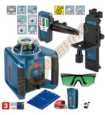 Ротационен лазерен нивелир Bosch GRL300HVG 0601061701 - 100