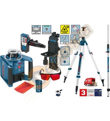 Ротационен лазерен нивелир Bosch GRL300HV 061599403Y - 60 ме
