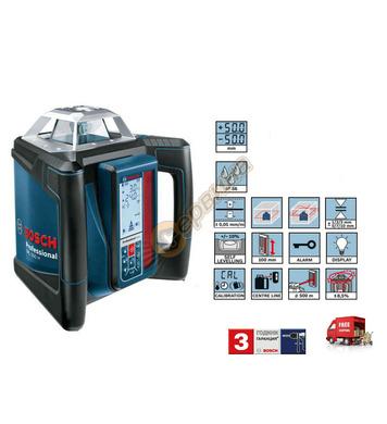 Ротационен лазерен нивелир Bosch GRL500H 0601061A00 - 20 мет