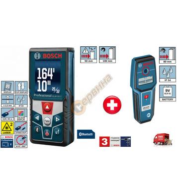Лазерна ролетка Bosch glm50 C 0601072C00 + Детектор-скенер B