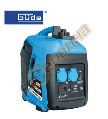 Инверторен електрогенератор GUDE ISG 2000 - 2000W   40647