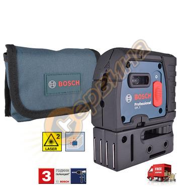 Лазерен точков нивелир Bosch Glp 5 0601066200 - 30м