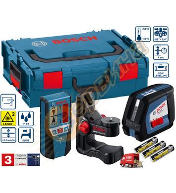 Линеен лазерен нивелир Bosch Gll 2-50 0601063109 - 50м