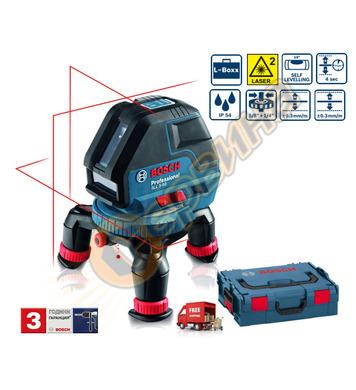 Линеен лазерен нивелир Bosch Gll 3-50 0601063801 - 10м
