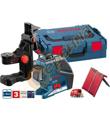 Линеен лазерен нивелир Bosch Gll 2-80P 0601063208 - 40м