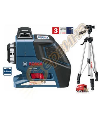 Линеен лазерен нивелир Bosch Gll 2-80P 0601063205 - 40м