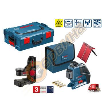 Линеен лазерен нивелир Bosch Gll 3-80P 0601063309 - 40м