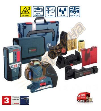 Линеен лазерен нивелир Bosch Gll 3-80P 060106330A - 40м