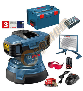 Лазер за проверка на равнинността Bosch Gsl 2 0601064001 - 1