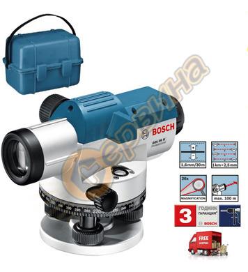 Оптичен нивелир Bosch Gol 26 G 0601068001 - 100м