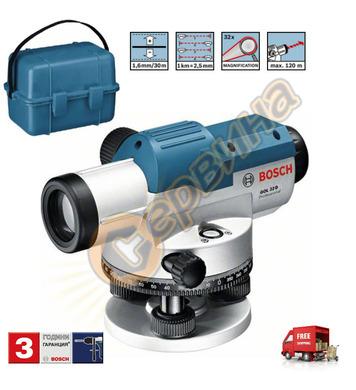 Оптичен нивелир Bosch Gol 32 G 0601068501 - 120м