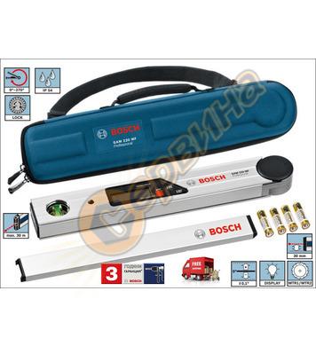 Нивелир с две либели и дигитален ъгломер Bosch Gam 270 MFL 0