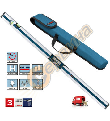 Дигитален нивелир Bosch Gim 120 Professional 0601076800 - 12