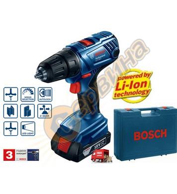 Акумулаторен пробивен винтоверт Bosch GSR 180-LI 06019F8100