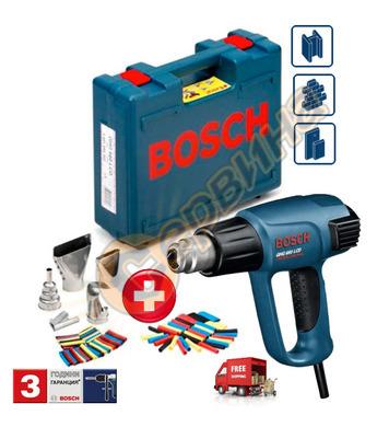 Пистолет за горещ въздух Bosch GHG 660 LCD 0601944302 + Конс