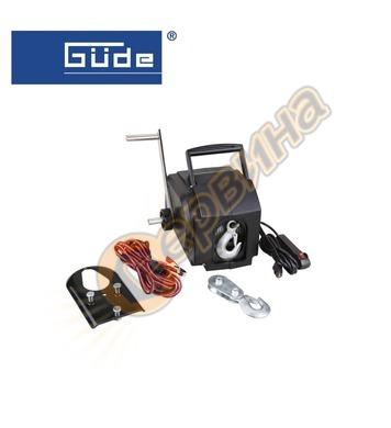 Електрическа лебедка Gude 55127 900 КГ / 12V 9 m/ф5,5 mm - з