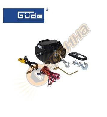 Електрическа лебедка Gude 55128 1800КГ / 12V 9 m/ф5,5 mm - з