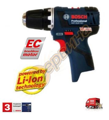 Акумулаторен винтоверт Bosch GSR 10.8 V-EC 06019D4002 - 10.8